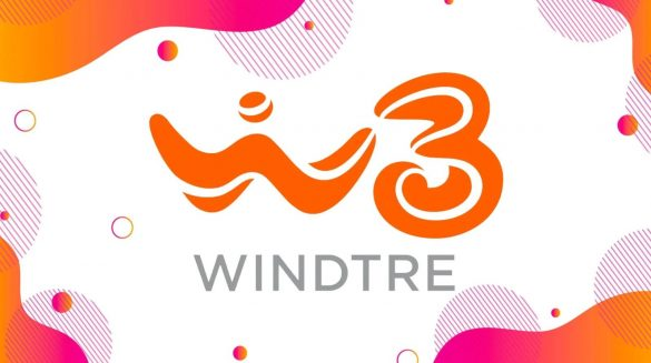 WindTre Logo Cover