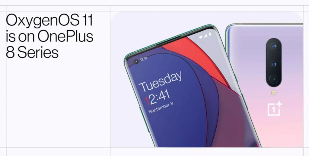 OxygenOS Android 11 OnePlus 8 Pro