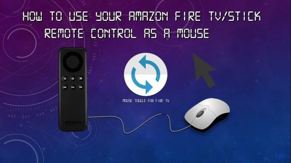 Mouse Amazon Fire TV Stick
