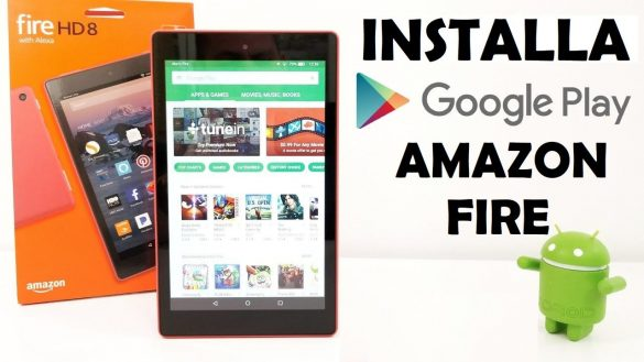 Play Store su Amazon Fire Tablet