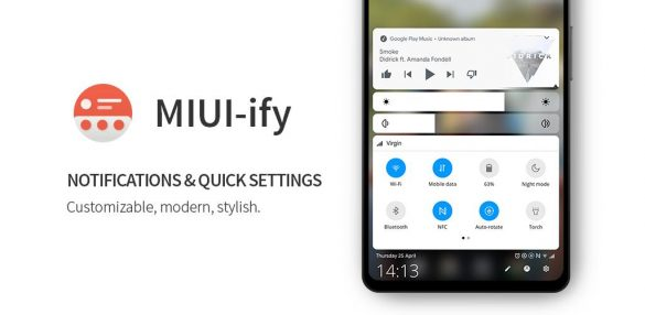 MIUI-ify Notification Shade & Quick Settings