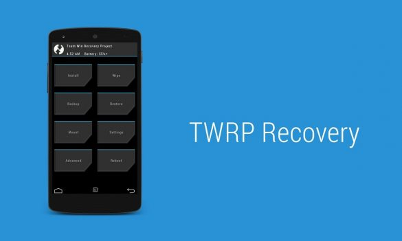 TWRP Recovery Cover