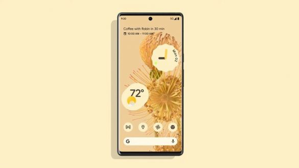 Google Pixel 6 with Material You 2