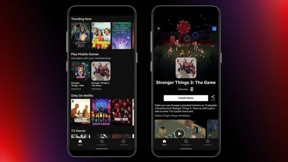 Netflix Mobile Gaming Stranger Things Android